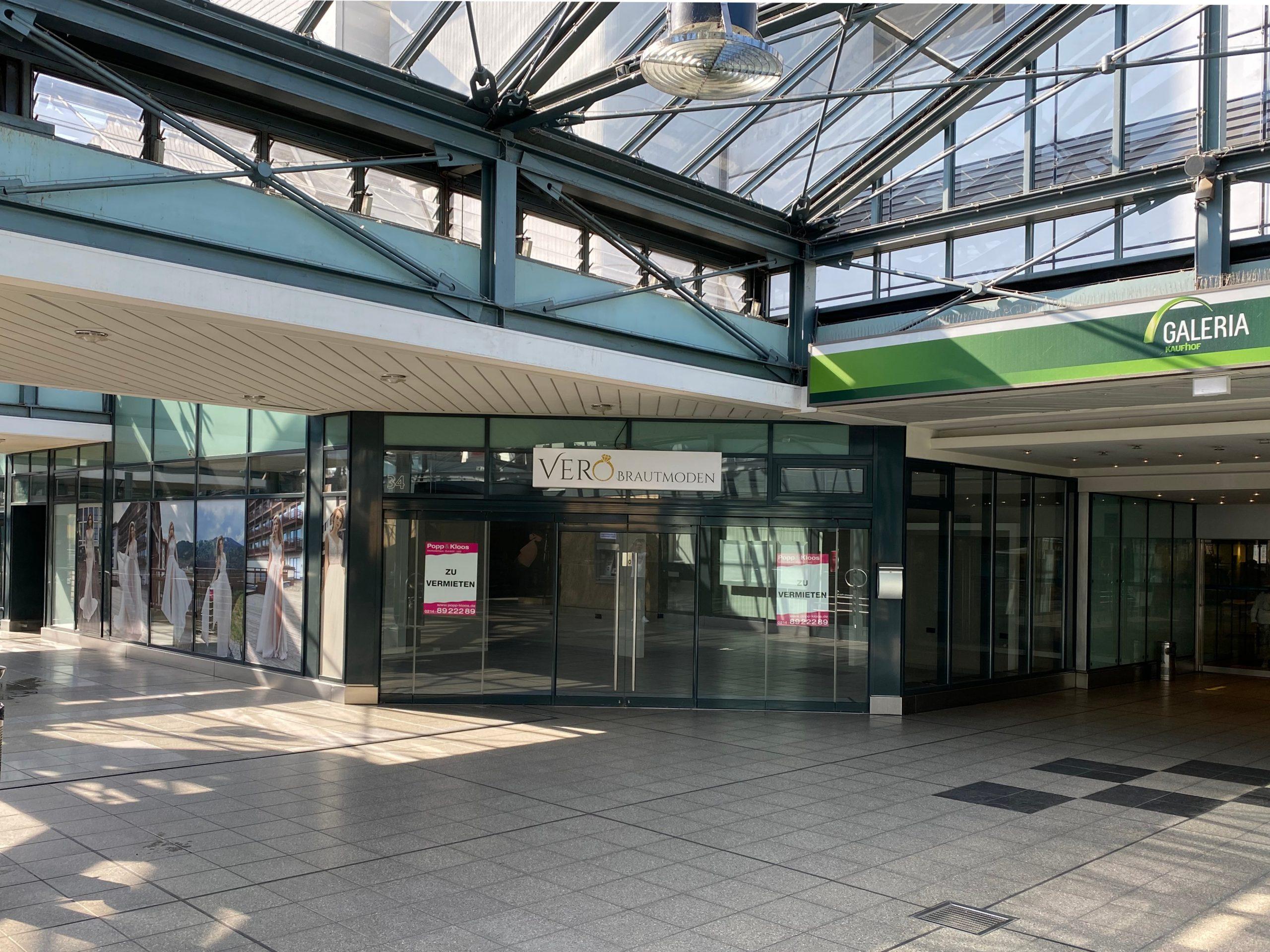 Ladenlokal zur Miete in Leverkusen Luminaden